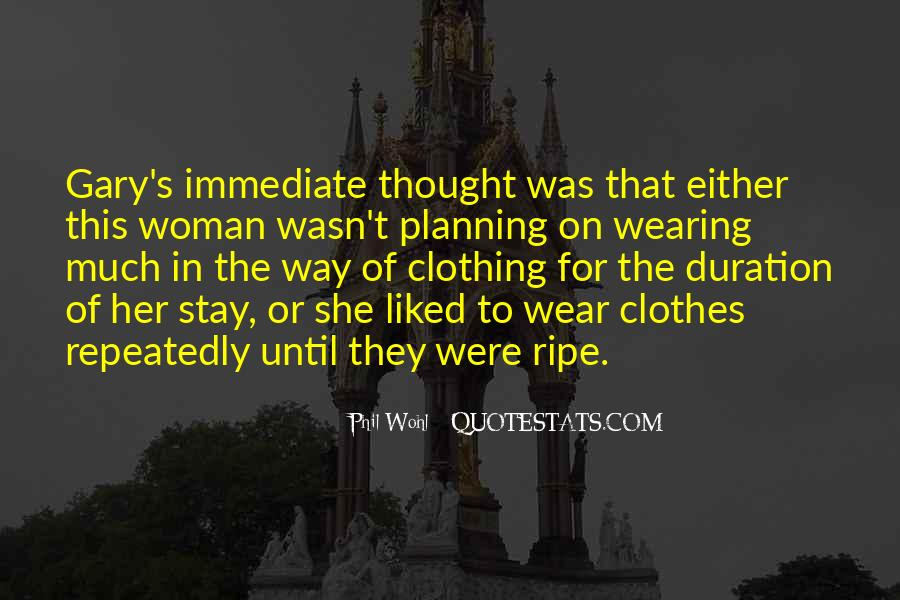 Quotes About Clothing #171272