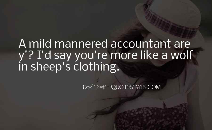 Quotes About Clothing #172013