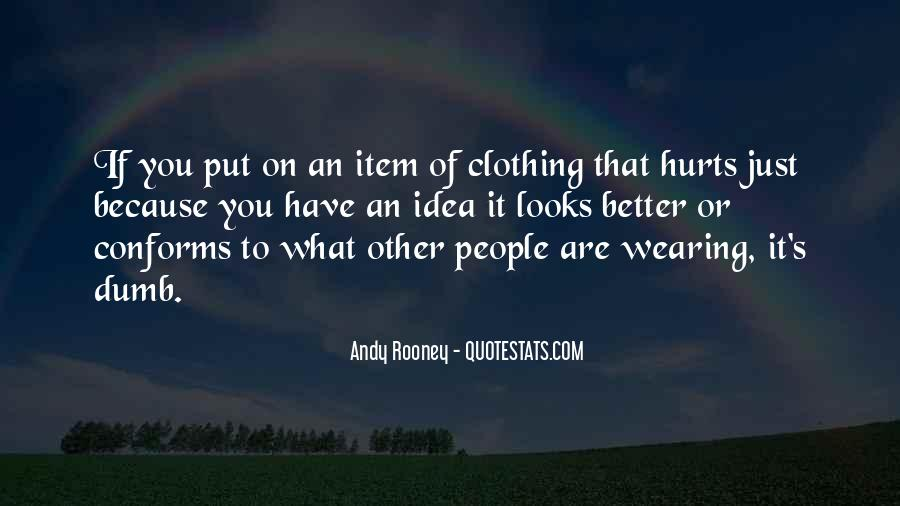 Quotes About Clothing #210187