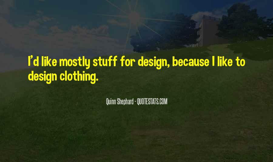 Quotes About Clothing #53964
