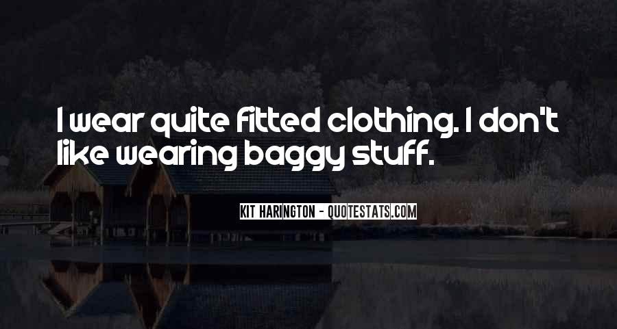 Quotes About Clothing #72071