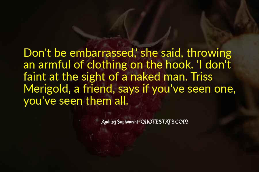 Quotes About Clothing #970