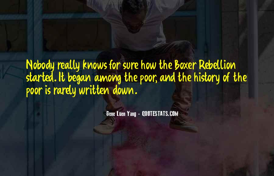 Quotes About The Boxer Rebellion #392953
