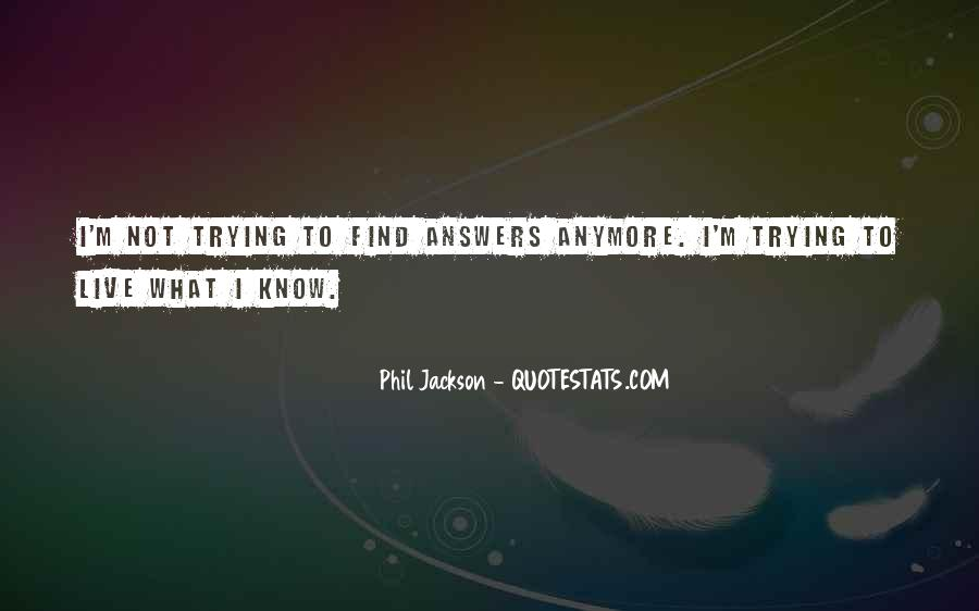 Quotes About Trying To Live Life #1024801