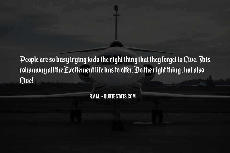 Quotes About Trying To Live Life #108959