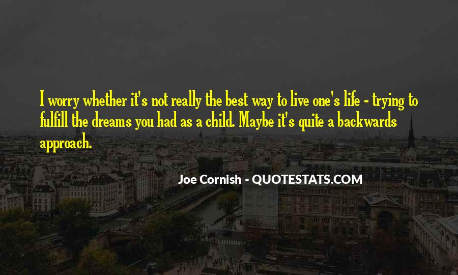 Quotes About Trying To Live Life #702848
