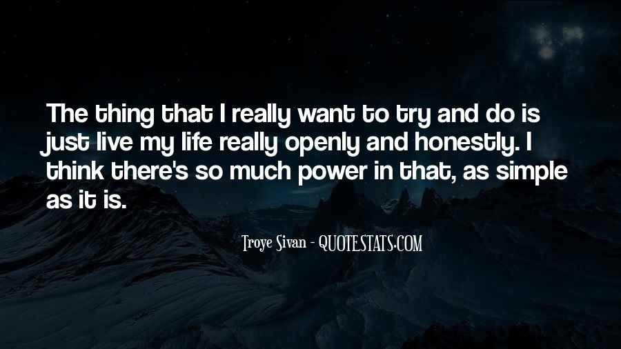 Quotes About Trying To Live Life #766011