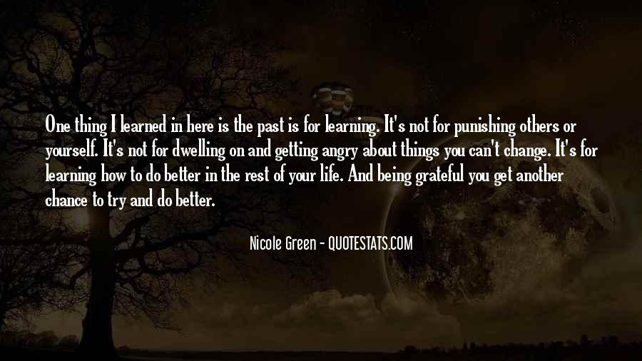 Quotes About Being Grateful For The Life You Have #1264232