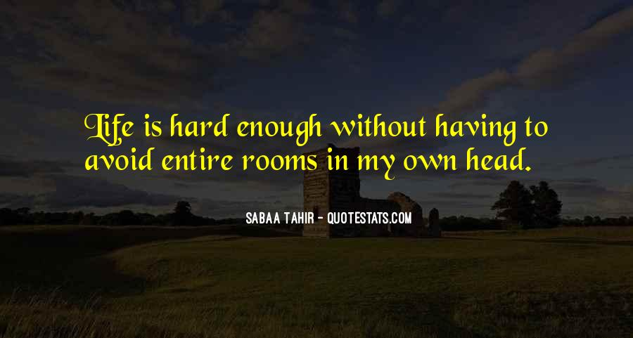 Quotes About Having Enough #101129