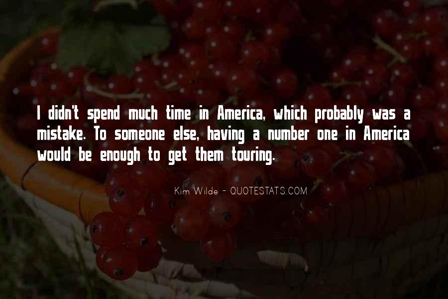 Quotes About Having Enough #218970