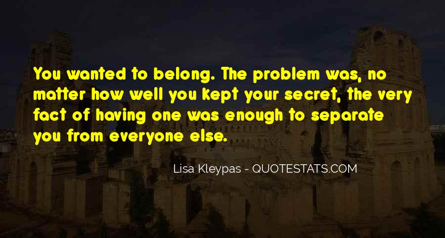 Quotes About Having Enough #85213
