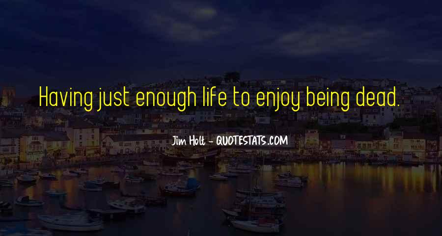 Quotes About Having Enough #92701
