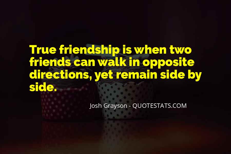 Quotes About Having True Friends #112083