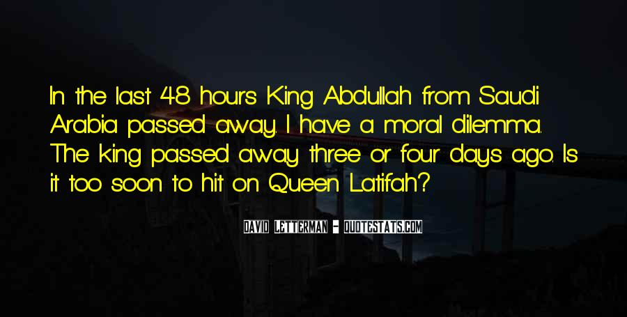 Quotes About King Abdullah #1004426