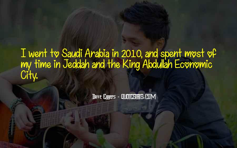 Quotes About King Abdullah #1206446