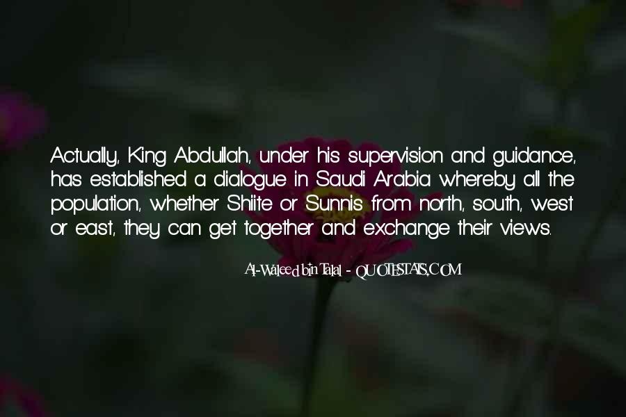 Quotes About King Abdullah #1724831