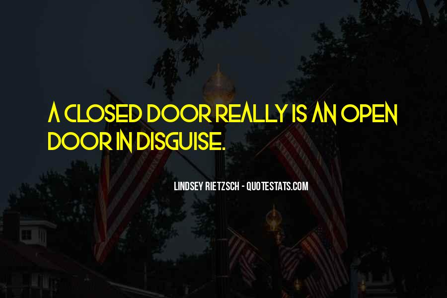 Quotes About Closed #2307