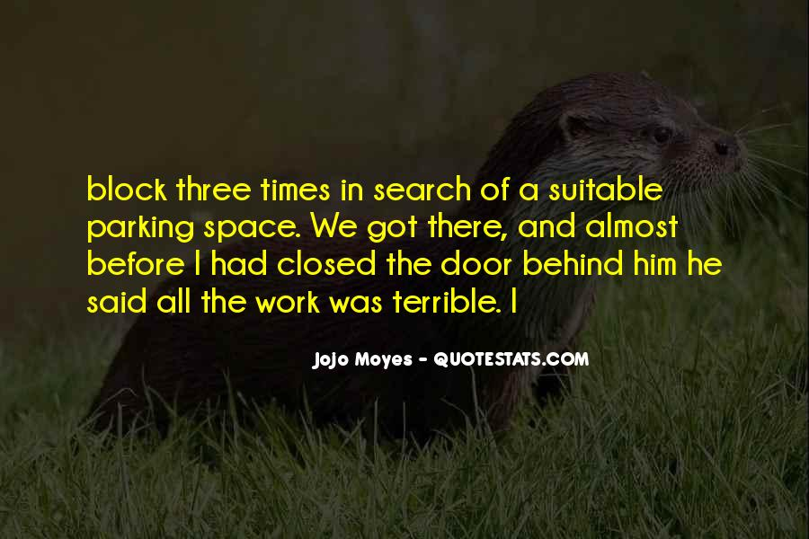Quotes About Closed #34131