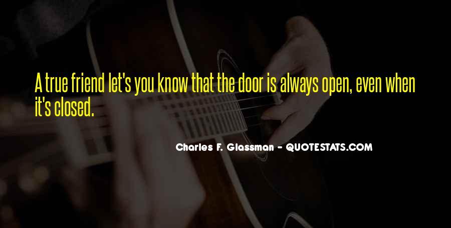 Quotes About Closed #65101