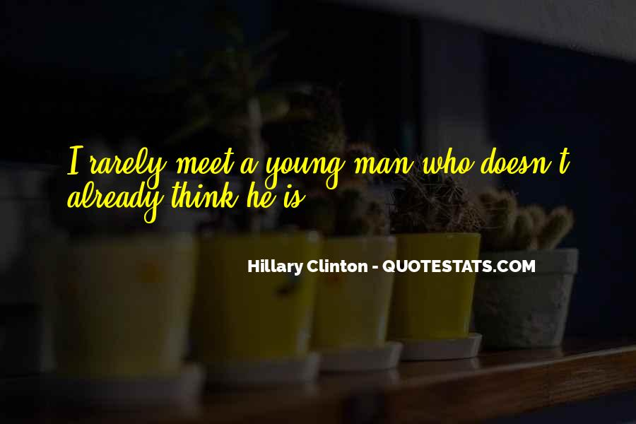 Quotes About A Young Man #101664