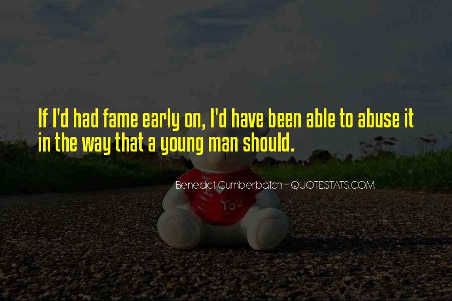 Quotes About A Young Man #1022