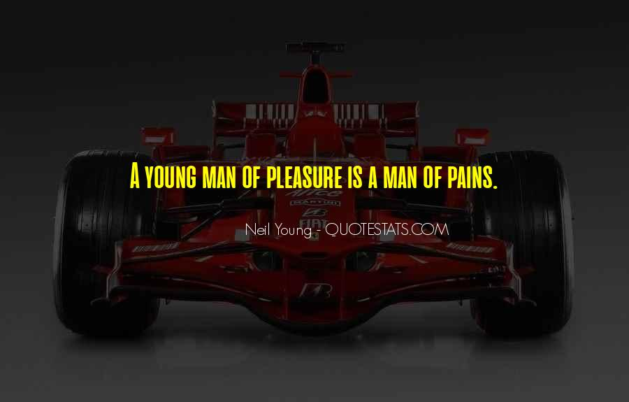 Quotes About A Young Man #117440