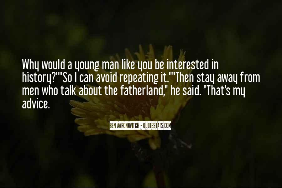 Quotes About A Young Man #119523