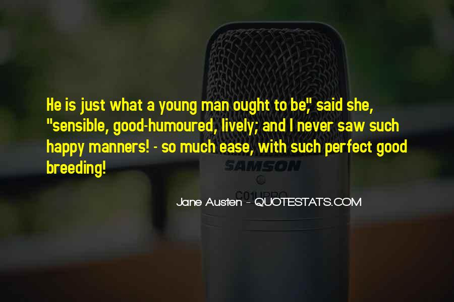 Quotes About A Young Man #121534