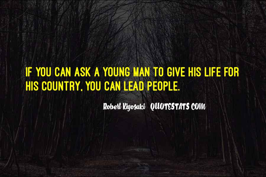 Quotes About A Young Man #126836
