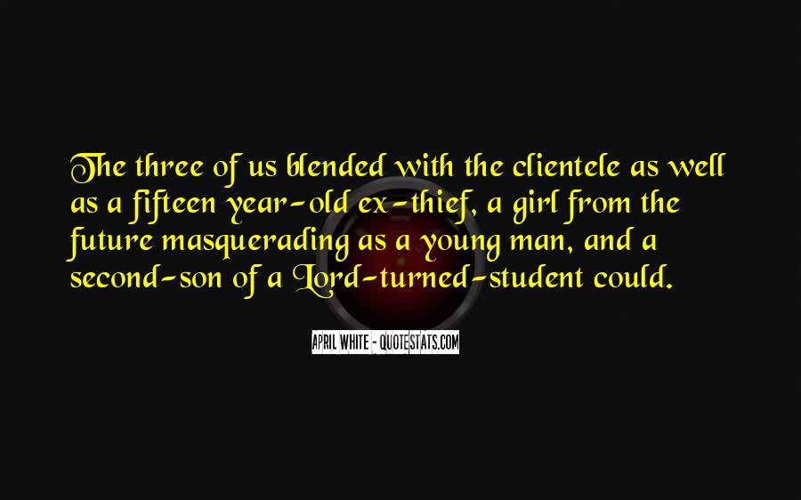 Quotes About A Young Man #39188