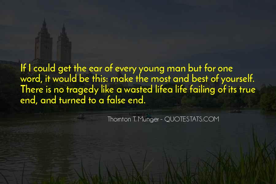 Quotes About A Young Man #53814