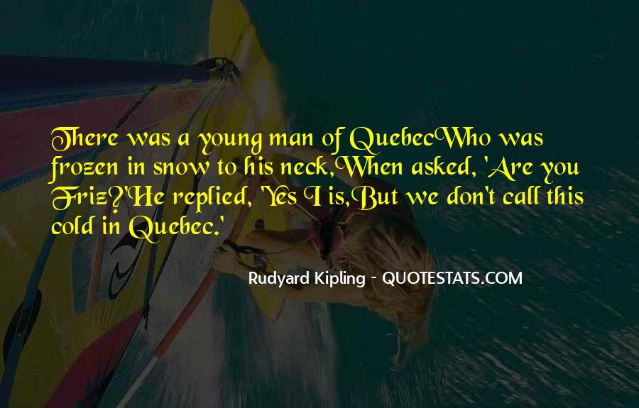 Quotes About A Young Man #71228