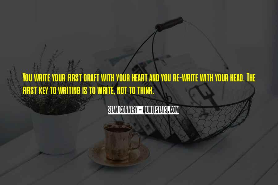 Quotes About Not Thinking With Your Heart #1222308