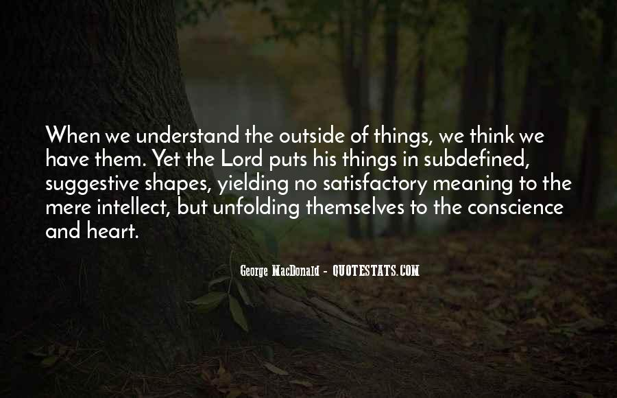 Quotes About Not Thinking With Your Heart #15787