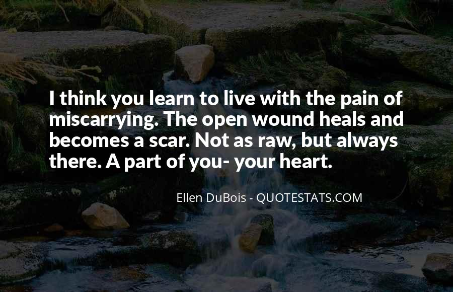 Quotes About Not Thinking With Your Heart #225107