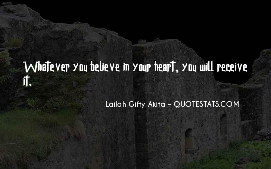 Quotes About Not Thinking With Your Heart #31239