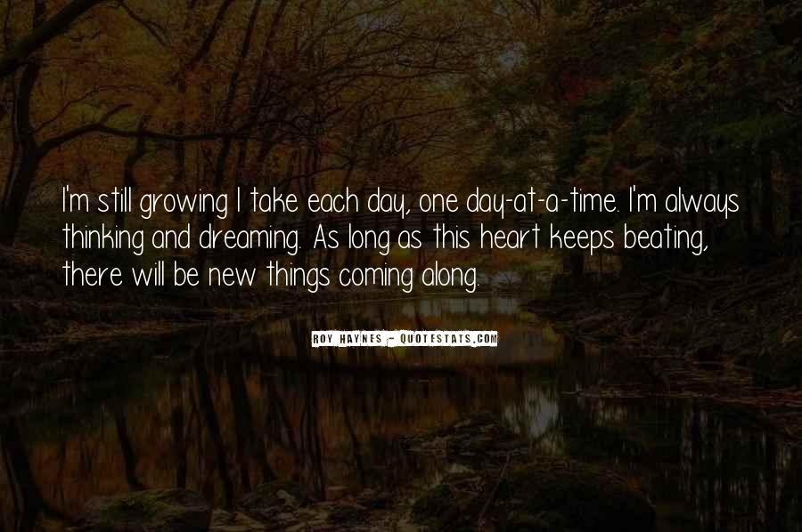 Quotes About Not Thinking With Your Heart #52049