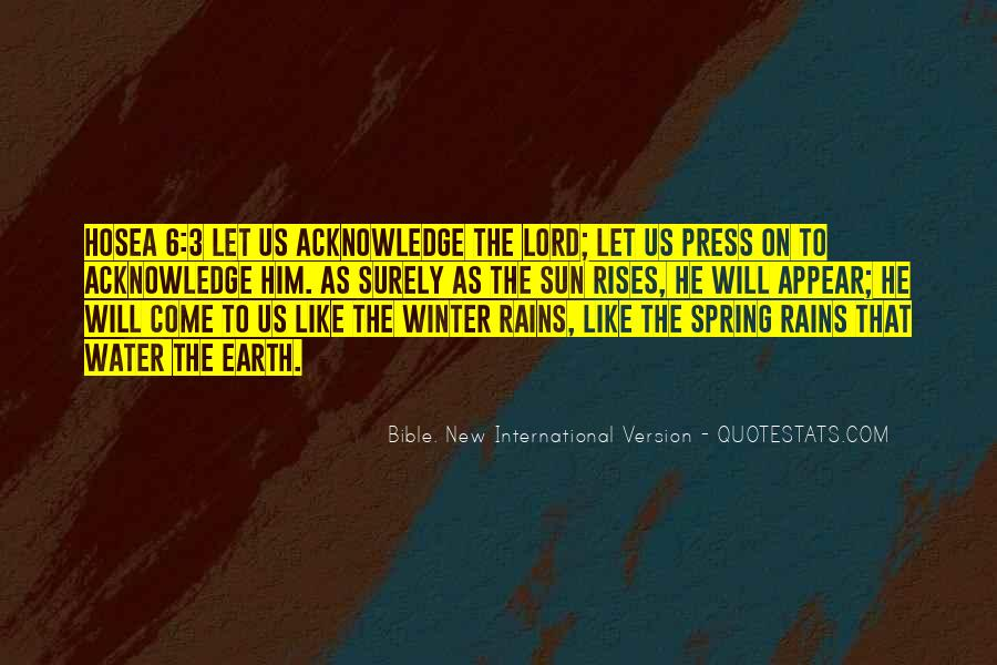 Quotes About The Earth From The Bible #1006491