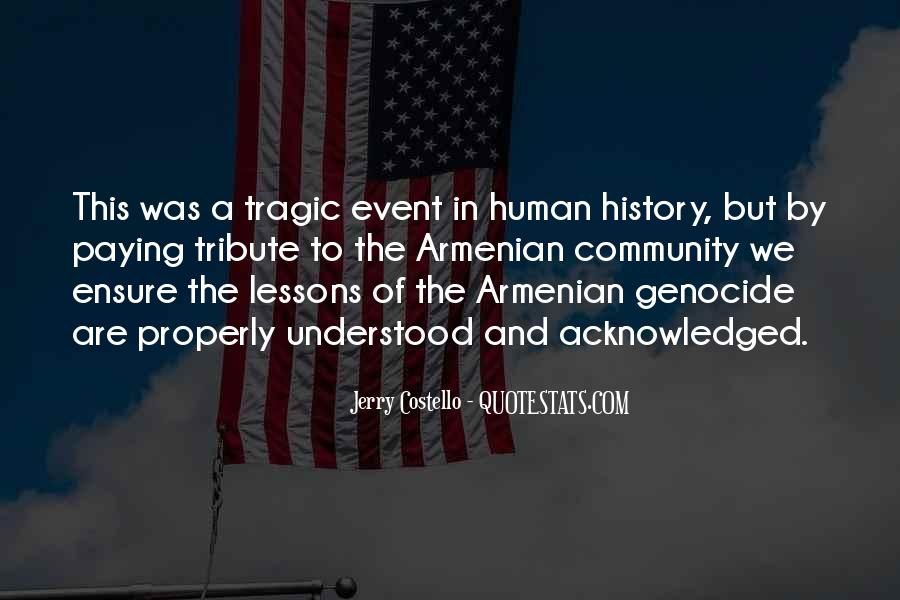 Quotes About Armenian Genocide #1820924