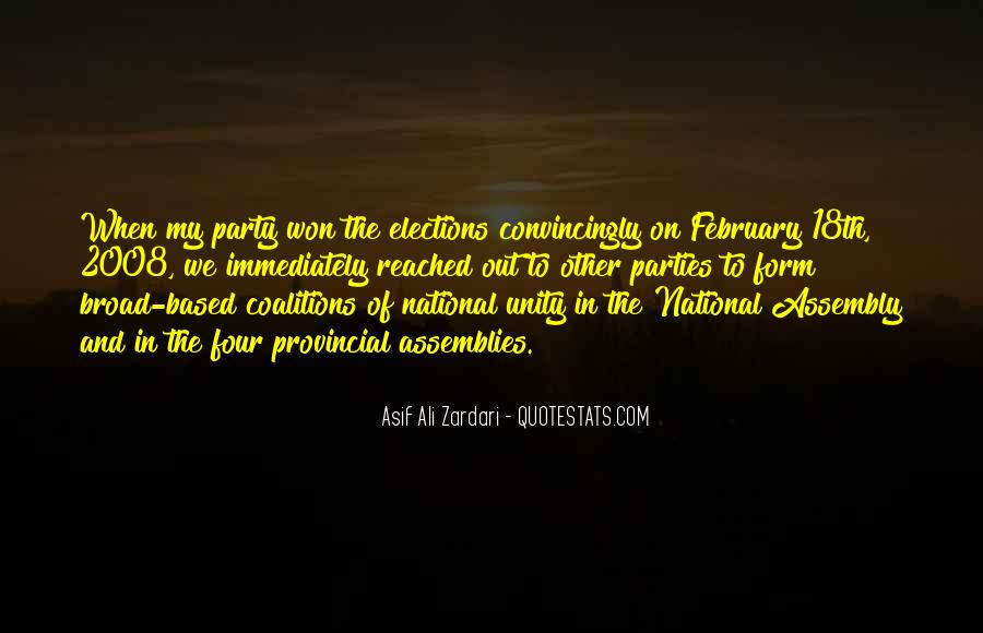 Quotes About Coalitions #1202452