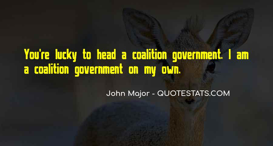 Quotes About Coalitions #1420792