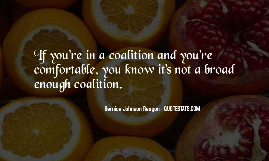 Quotes About Coalitions #1595579