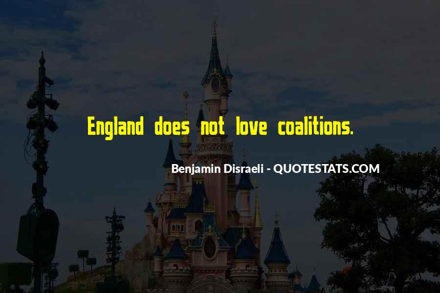 Quotes About Coalitions #899646
