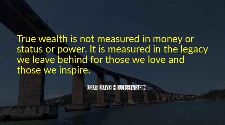 Quotes About Love And Not Money #140802