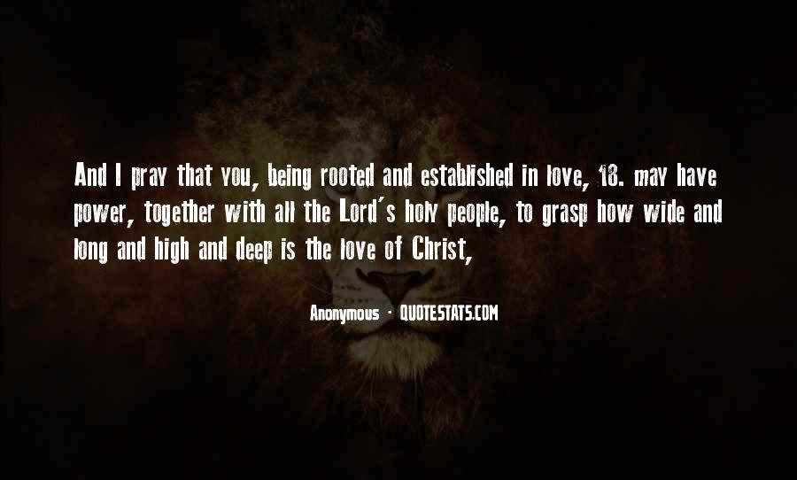 Quotes About Being Rooted In Christ #1231843