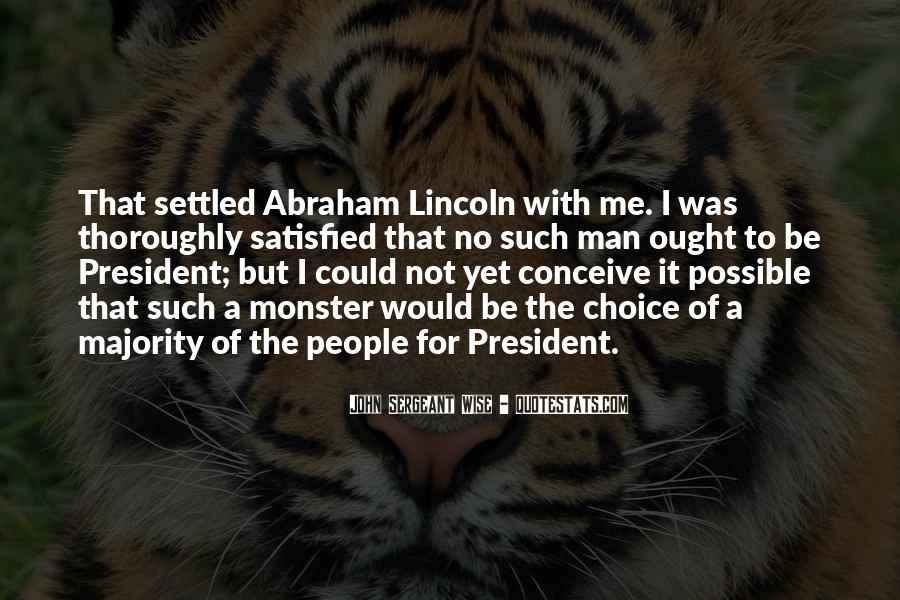 Quotes About President Lincoln #1522193