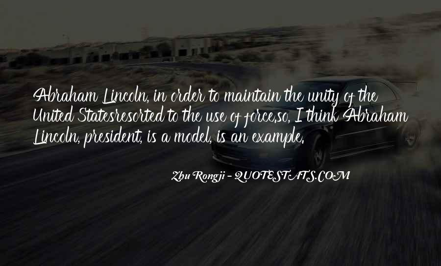 Quotes About President Lincoln #326857
