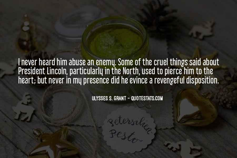 Quotes About President Lincoln #655643