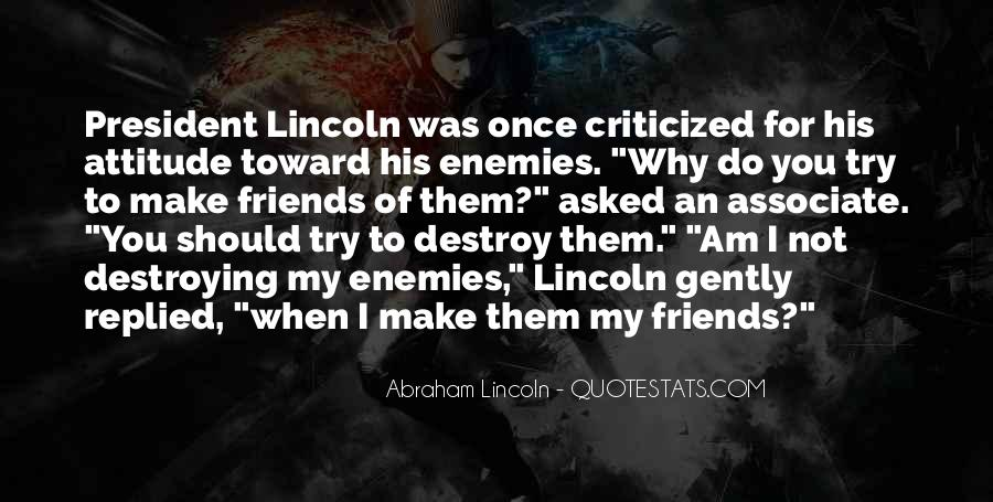 Quotes About President Lincoln #746419