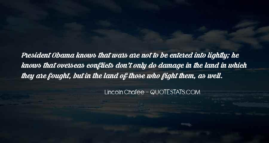 Quotes About President Lincoln #959249
